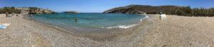 panoramic view of Livadi beach