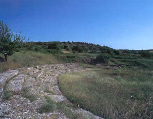 Ruins of Thebes theatre