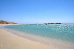 Magannari beach view